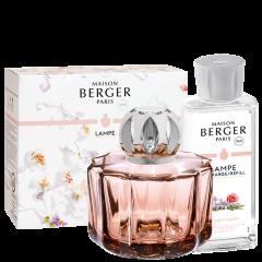 Coffret Lampe Poesy & son parfum Bouquet Liberty