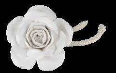 Rose en céramique