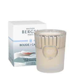Bougie parfumée Land Blanc Givré