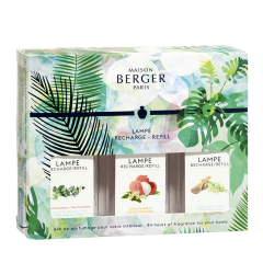 Coffret 3 recharges 180ml Collection Immersion