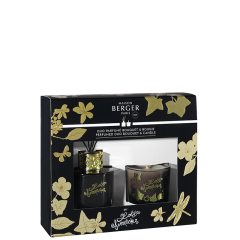 Duo mini Bouquet & Bougie Lolita Lempicka Black Edition
